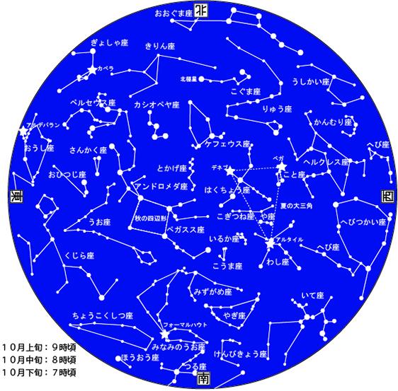 10月星図カラー