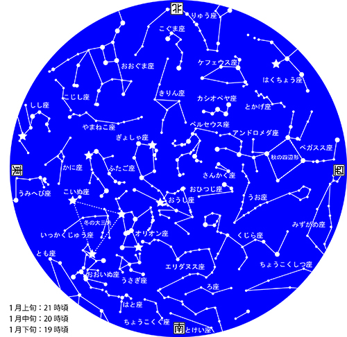 1月星図カラー