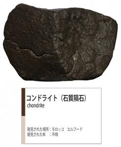 石質隕石ロクトリポート用画像