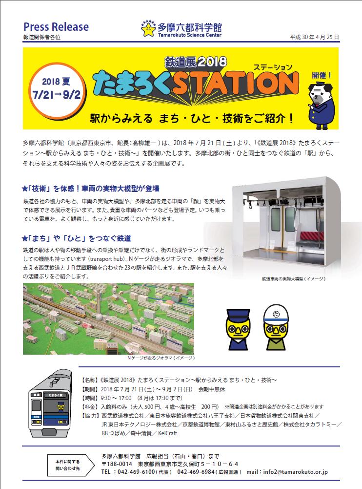 鉄道展2018