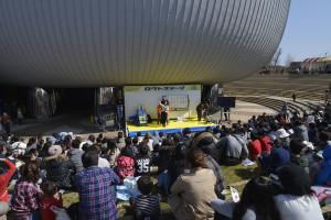 ロクトステージ「ビンゴ大会」の様子