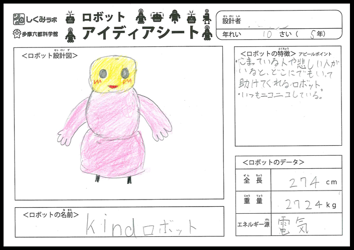 kindロボット
