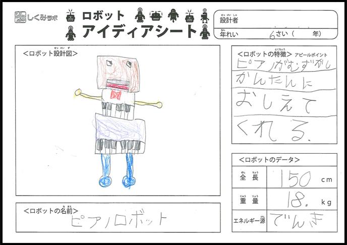 ピアノロボット