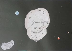 猫型小惑星「リュウグウ」