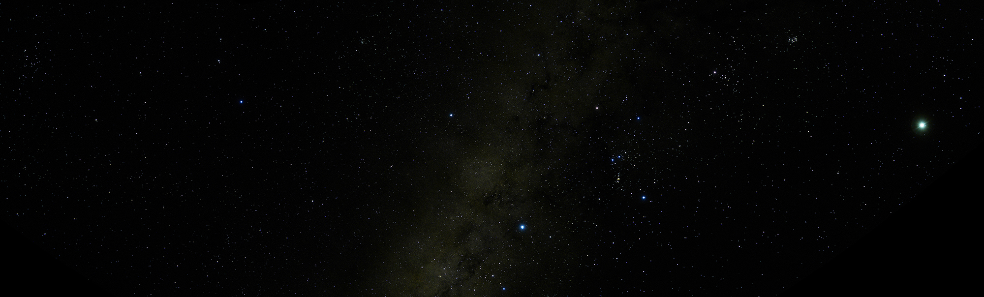 星 西 明るい の 2020 空